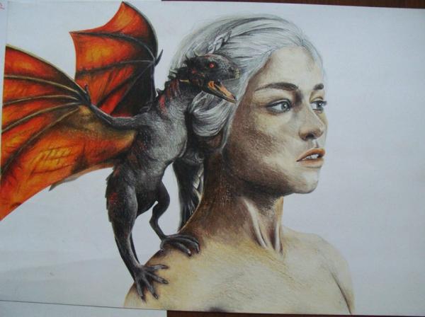 Emilia Clarke by staticbounce